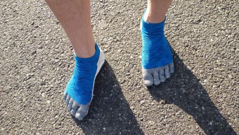 「はだし靴下」の外観