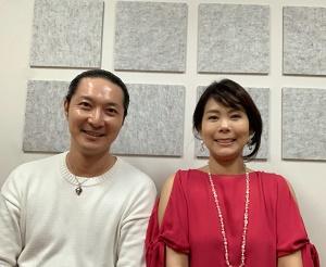 松本氏とイゲット千恵子氏