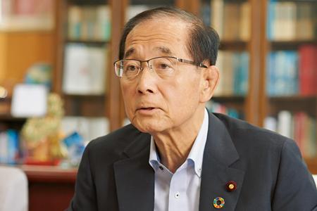 原田義昭環境大臣